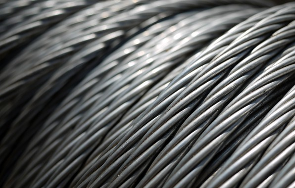 Picture wire, metal, iron, rope