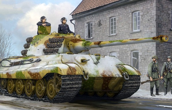 Picture the Wehrmacht, Tiger II, King tiger, Royal tiger, Panzerkampfwagen VI Ausf. B, Tiger II, King …