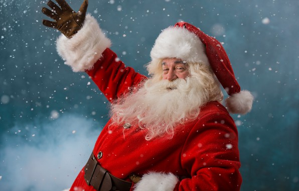 Picture winter, snow, New Year, Christmas, Santa Claus, Santa Claus, Christmas, winter, snow, New Year, Santa ...