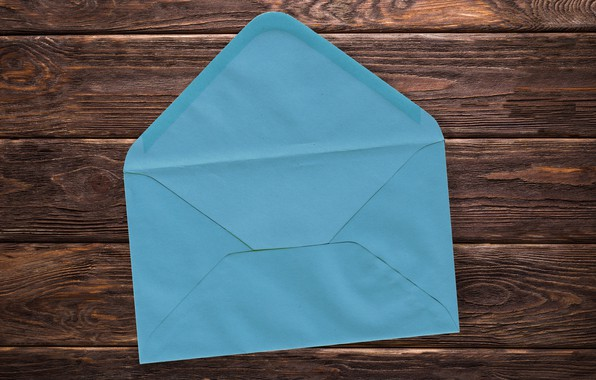 Picture letter, link, the envelope