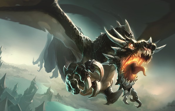Picture Dragon, Monster, Rage