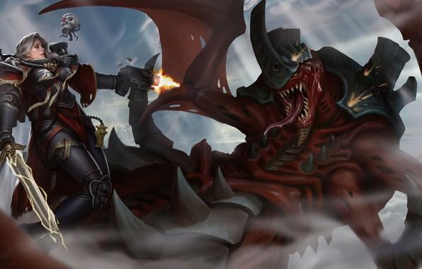 Picture sword, sword, Adept Sororitas, Warhammer, servicerep, sister of battle, tyranid, Warhammer 40 000, Sister of …