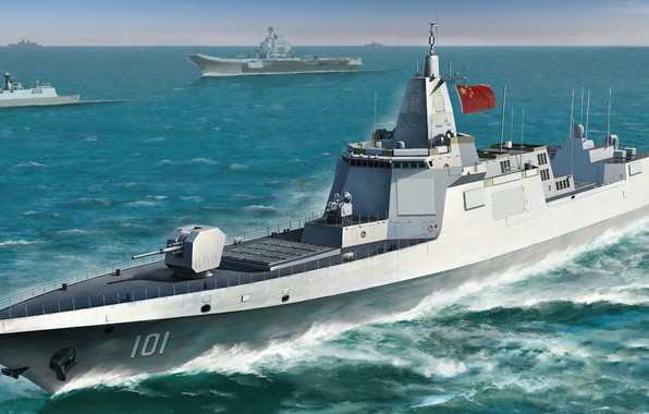 Picture China, destroyer, destroyer, THE PLA NAVY, Chinese Navy Type 055 DDG Large Destroyer, pla, Type …