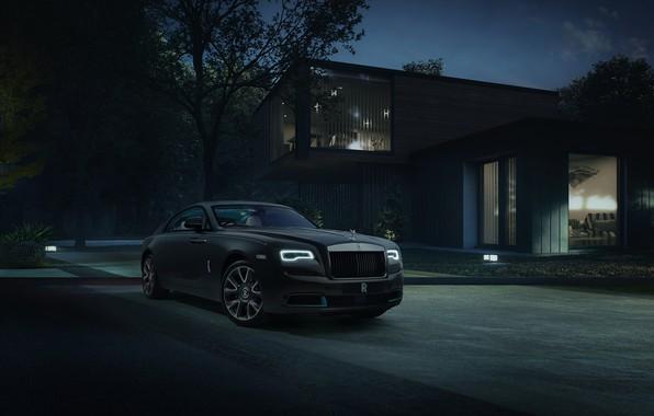 Picture Rolls-Royce, sportcar, Rolls-Royce Wraith