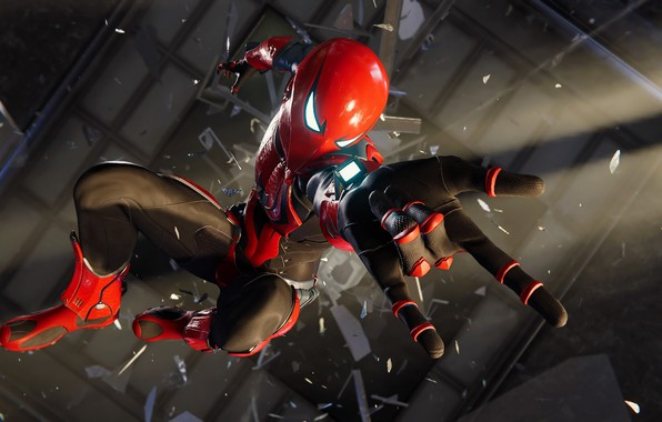Picture pose, the game, spider-man, Spider Man