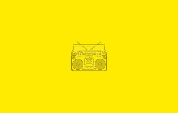 Picture music, radio, entry, radio