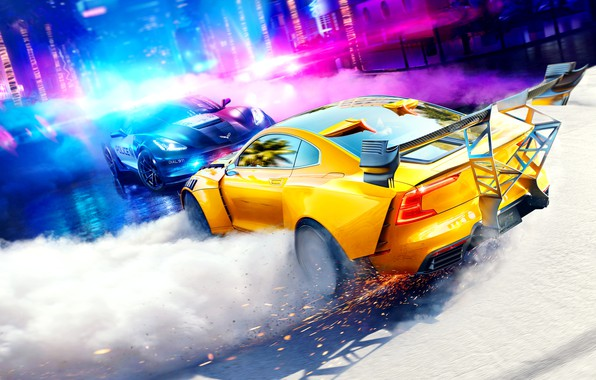 Picture machine, NFS, Need for Speed: Heat