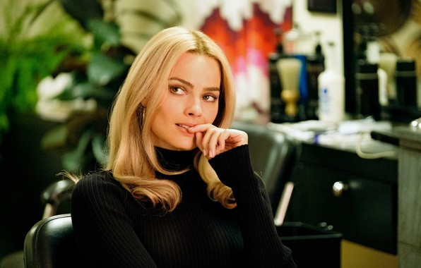 Picture look, actress, blonde, beauty, blonde, margot robbie, Margot Robbie, once upon a time in hollywood, …