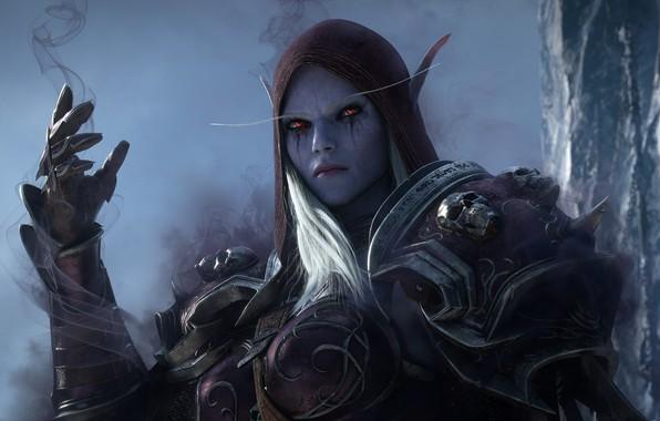 Picture Blizzard Entertainment, Sylvanas Windrunner, World Of Warcraft, Sylvanas Windrunner, The Dark Lady, Lady Banshee, World …