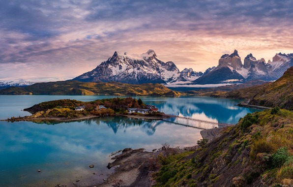 Picture Patagonia, chile, Torres del Paine