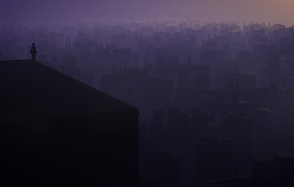 Picture city, the city, si-fi, sifi