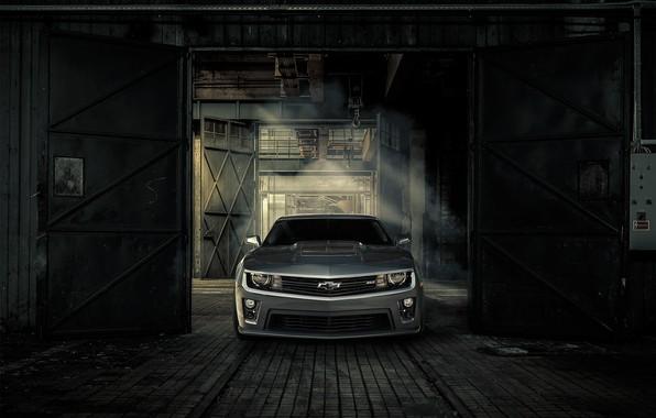 Picture Chevrolet, Machine, Gate, Camaro, Lights, ZL1, Icon, Grille