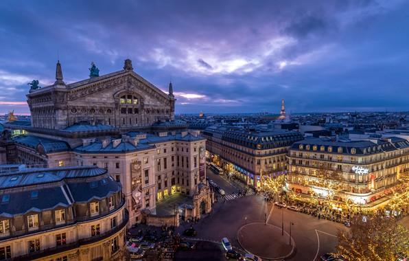 Picture France, Paris, building, home, Paris, Opera Garnier, France, Grand Opera, Opera Garnier, Grand Opera
