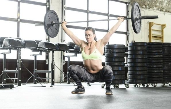 Picture look, photo, figure, pose, athlete, workout, gym, fitness, gym, training, Gym, crossfit, CrossFit, Camille Leblanc-Bazinet, …