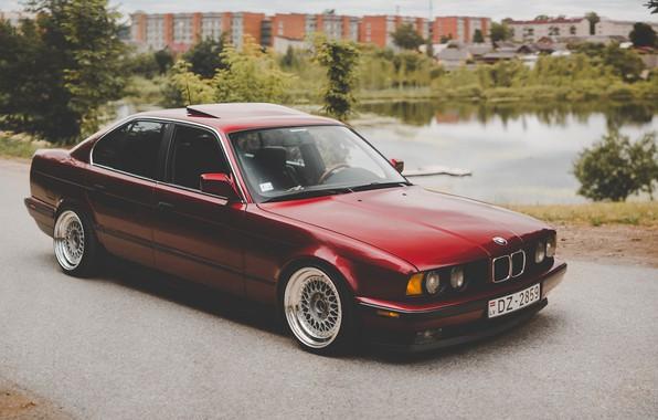 Picture BMW, E34, 5-Series, 520I