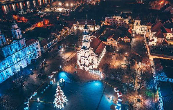 Picture Lithuania, Kaunas, nights