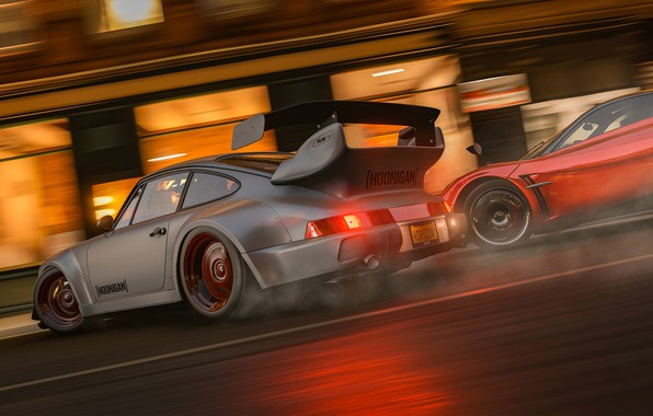 Picture drift, Forza Horizon 4, Hoonigan drift