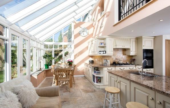 Picture design, furniture, interior, kitchen