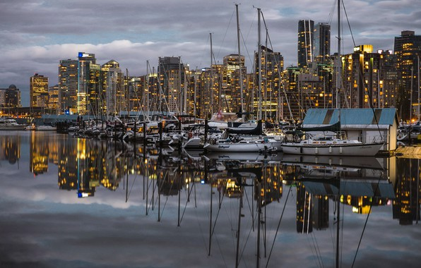 Picture the city, port, Vancouver