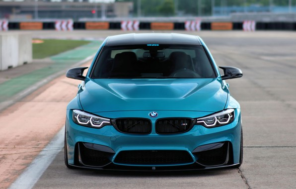 Picture BMW, Blue, F80, Sight, Adaptive LED