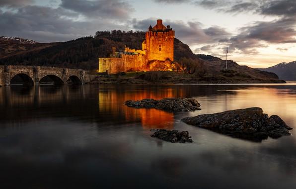 Picture Scotland, Kyle of Lochalsh, Eilean Donan Castle