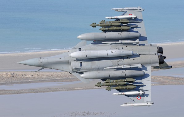Picture Fighter, Dassault Rafale, The French air force, Air force, PTB, Air bombs, MBDA Meteor, MBDA …
