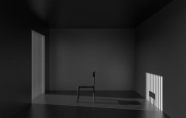 Picture light, room, shadow, chair, light, chair, room, shadow, Antonyus Bunjamin (Abe)