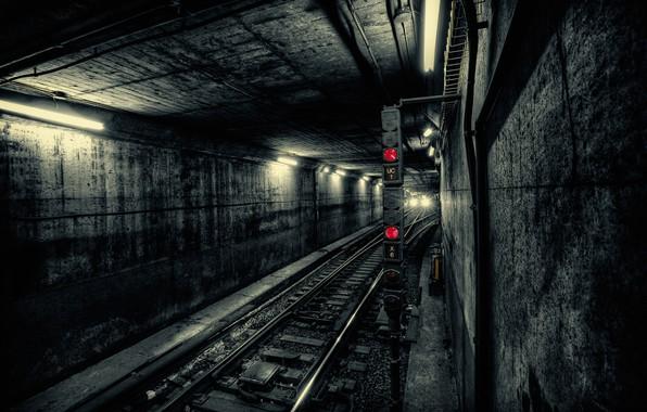 Picture Train, Underground, Tunnel