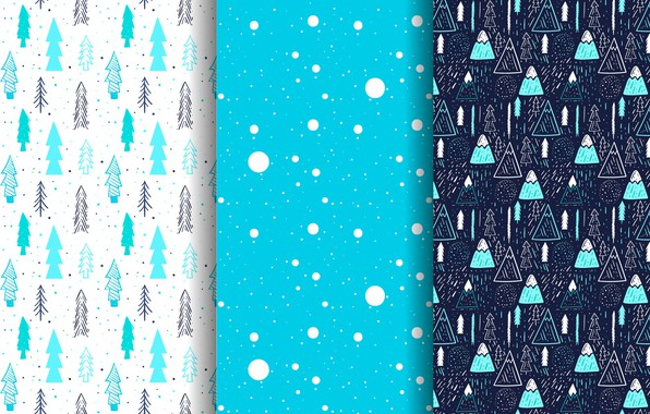 Picture winter, blue, background, blue, new year, texture