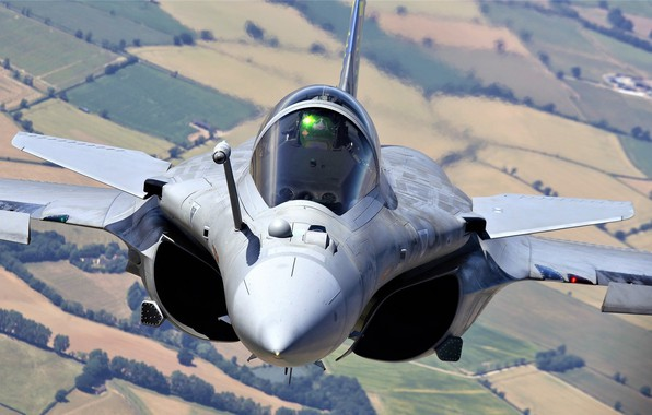 Picture Pilot, Dassault Rafale, The French air force, Cockpit, Air force, ILS, Rafale D