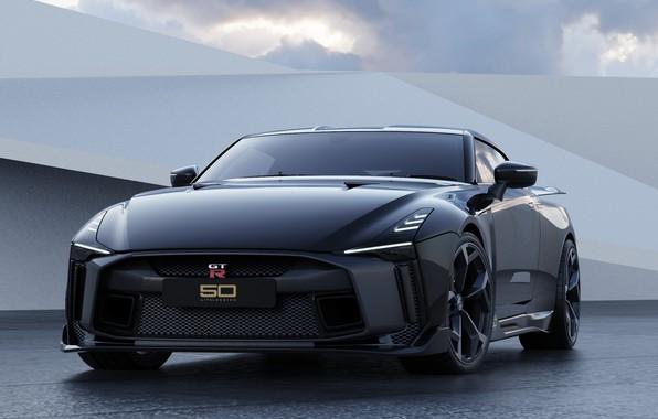 Picture Nissan, Black, GT-R50