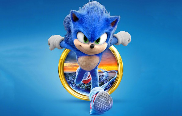 Picture Sonic, Sonic, 2020, The Hedgehog, Sonic The Hedgehog
