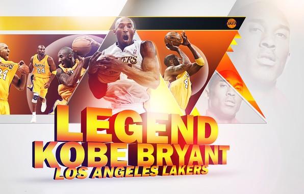 Picture Legend, NBA, Lakers, Kobe Bryant, Basketball, Bryant, Kobe, Los Angeles Lakers, Black Mamba, LA Lakers