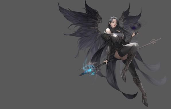 Picture the game, art, Illustrator, Daeho Cha, costume design, MU ORIGIN illust