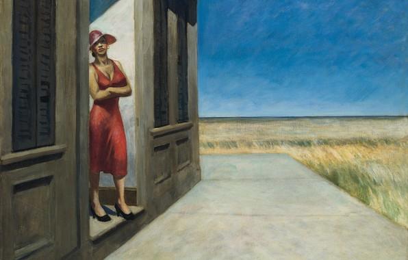 Picture Edward Hopper, 1955, South Carolina Morning