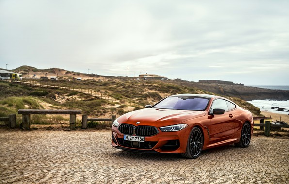 Picture coupe, BMW, Coupe, Playground, 2018, 8-Series, dark orange, M850i xDrive, Eight, G15