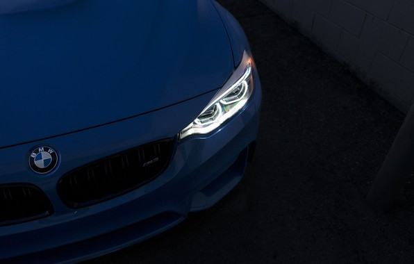 Picture BMW, Light, Blue, F82, Sight, LED