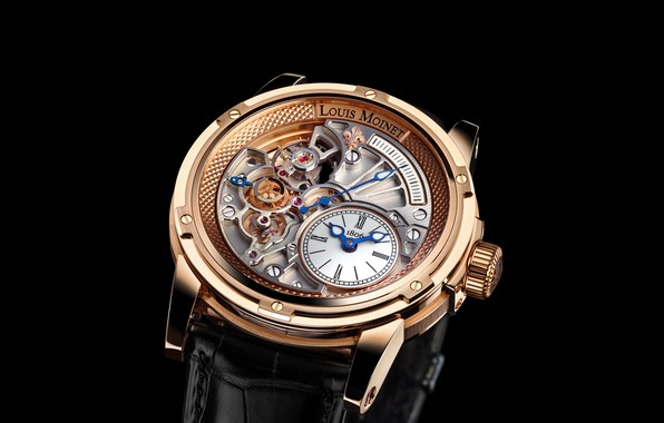 Picture watch, Louis Moinet, Tempograph
