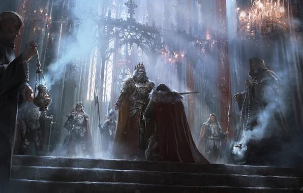 Picture Figure, Warrior, Knights, King, Art, Knight, Accolade, Darek Zabrocki, Dedicated, by Darek Zabrocki