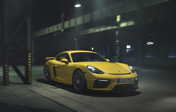 Picture machine, Porsche, Cayman, sports car, GT4, 718