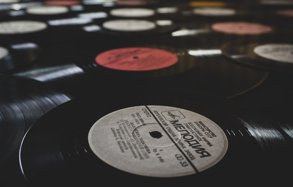 Picture music, Vinyl, record, melody