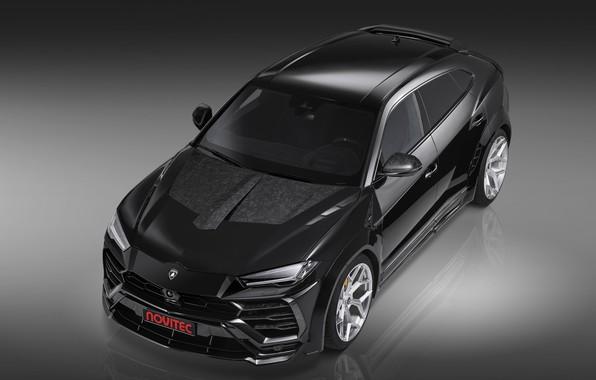 Picture Lamborghini, front view, crossover, Urus, Novitec, 2019