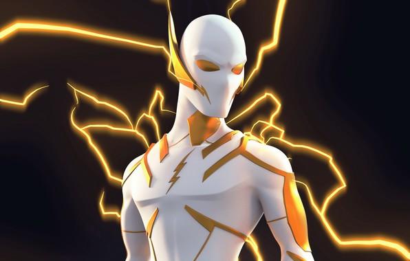 Picture zipper, villain, comic, DC Comics, Godspeed, Speedster, Speedforce, the power of speed, lightning speed