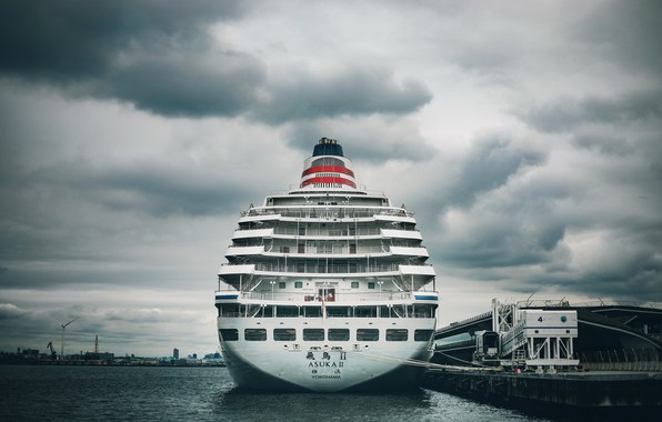 Picture japan, ship, port, yokohama