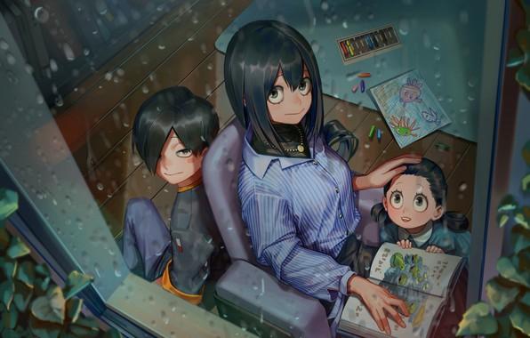 Picture girl, children, My Hero Academia, Boku No Hero Academy, My Hero Academy