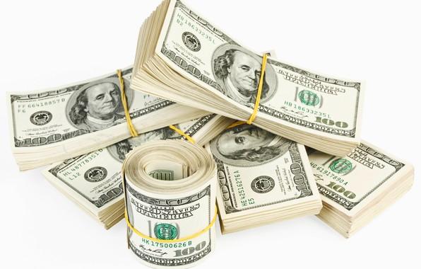 Picture dollars, bills, fon, dollars, gum