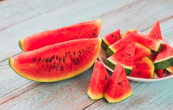 Picture summer, Watermelon, berry