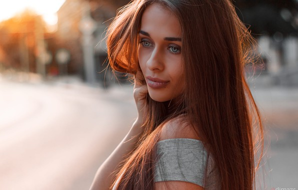 Picture look, girl, photo, hair, makeup, beautiful, Dim Khokhlov