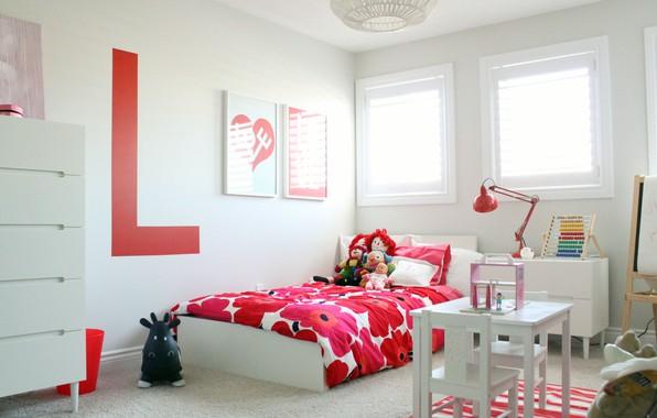 Picture design, toys, bed, interior, children's room