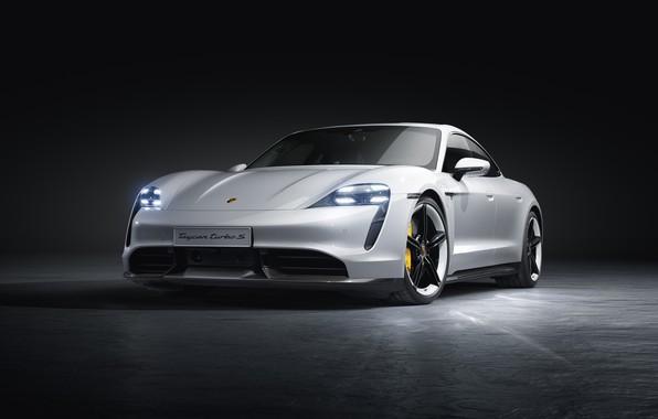 Picture machine, Porsche, turbo s, Taycan